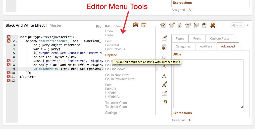 editor-menu-tools